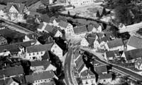 Posten 20 in Schnaitheim. Er gehört zu den Bauten, die die Bahn nicht selbst gebaut hat, sondern gekauft. Es wurde im Zuge der begradigung der Mühlenstraße abgebrochen.
