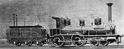 Bereits 1860, vier Jahre vor der Eröffnung der Brenzbahn, wurden für die Württembergischen Staatseisenbahnen die Lokomotiven der Klasse D mit den Namen Brenz (Betriebsnummer 99), Heidenheim (100) und Königsbronn (101) in Betrieb genommen.