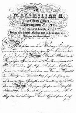 Am 21. Februar 1861 unterzeichneten der württembergische und der bayerische König einen Vertrag, der für die Brenztalbahn weitreichende Folgen haben sollte: 12 Jahre konnt nicht nach Ulm weitergebaut werden. Mit Unterzeichnung des Vertrages und der Fertig